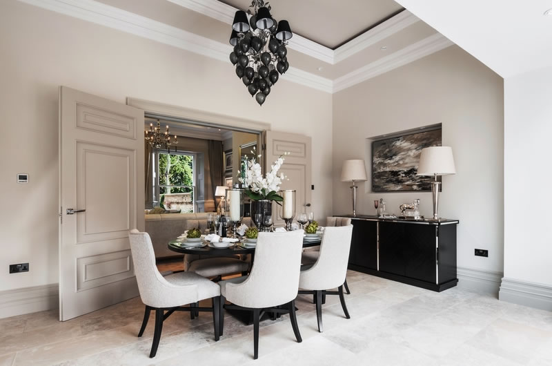 Dining Room with Sideboard