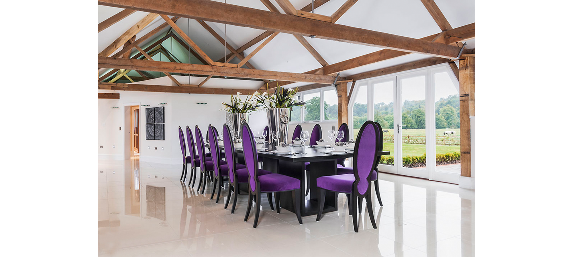 Simplicity Dining Table in Black