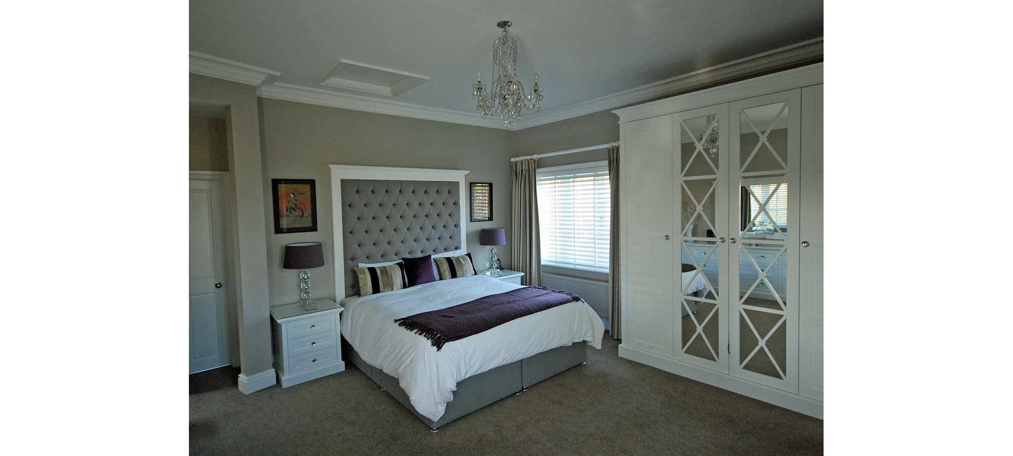 White painted bedroom set furniture